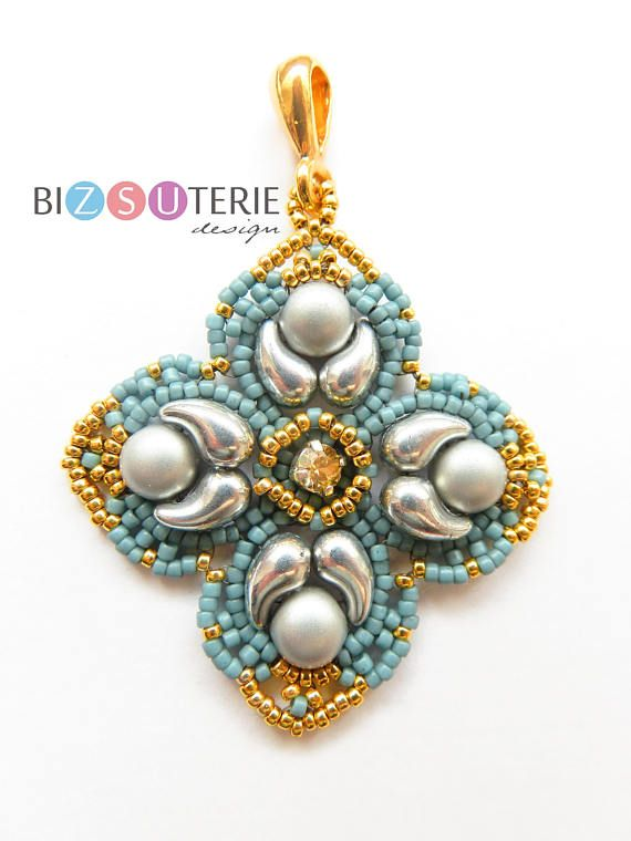 4215 Best 2 Hole Bead Designs Images On Pinterest Beaded