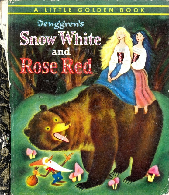 Little Golden Book: Snow White and Rose Red