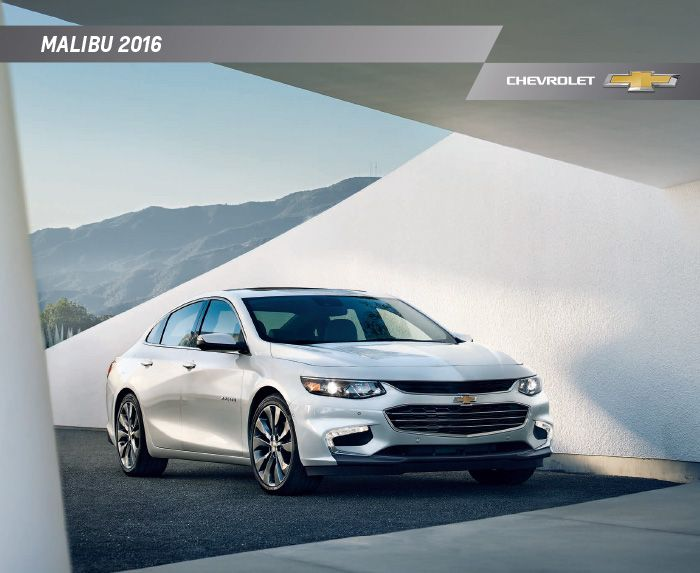 For more info and vehicle details, download your copy of the 2016 Chevy Malibu Hybrid brochure! #Chevy