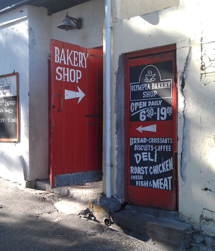Olympia Bakery at Kalk Bay, Cape Town