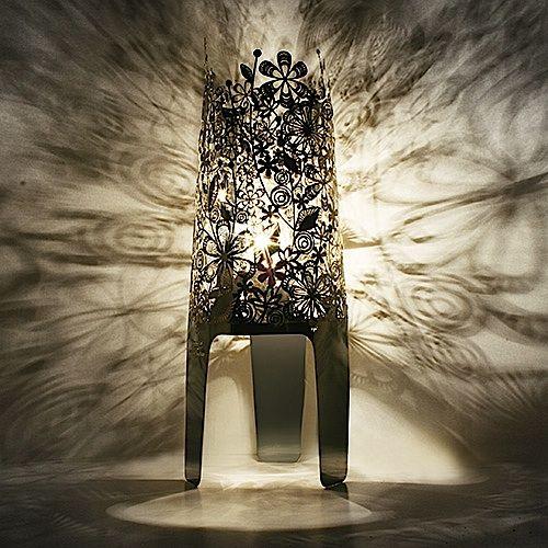 Designer shadow lamp