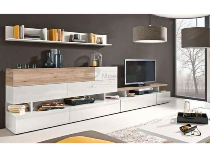 die besten 25 wohnwand wei hochglanz g nstig ideen auf pinterest tv wand nussbaum wei tv. Black Bedroom Furniture Sets. Home Design Ideas