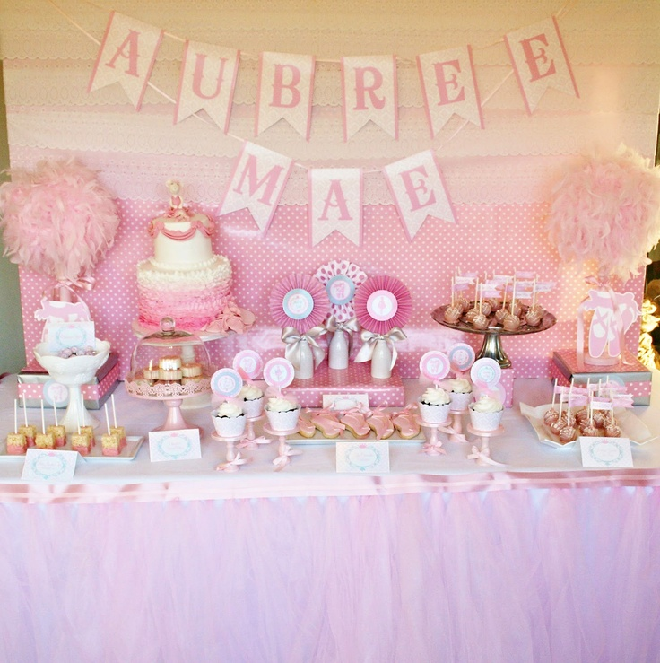 Amandau0027s Parties TO GO: Ballet Baby Shower Party
