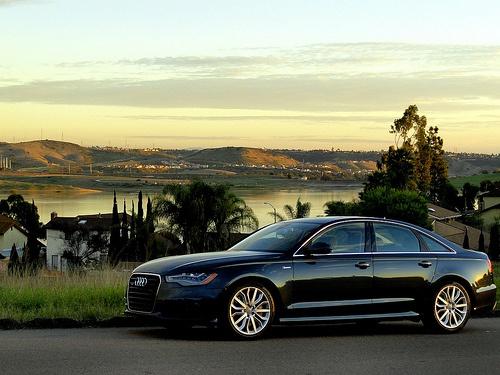 The beautiful 2012 Audi A6 #cars