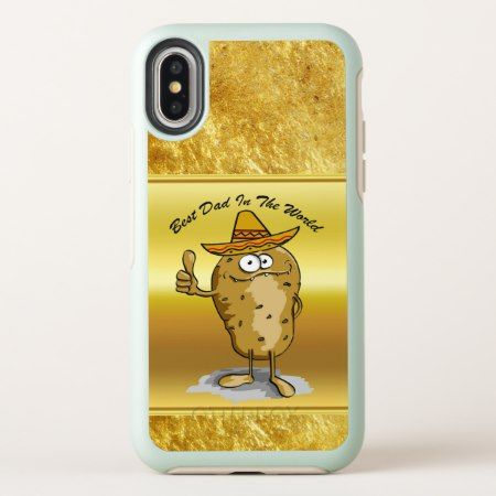 Mexican sombrero hats potato character OtterBox symmetry iPhone x case - click/tap to personalize and buy. #iPhonex #otterbox #protective #cute