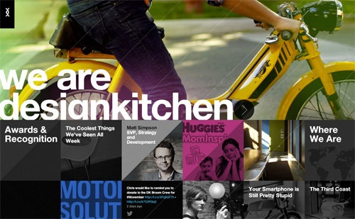 A Collection of Beautiful Design Agency Sites