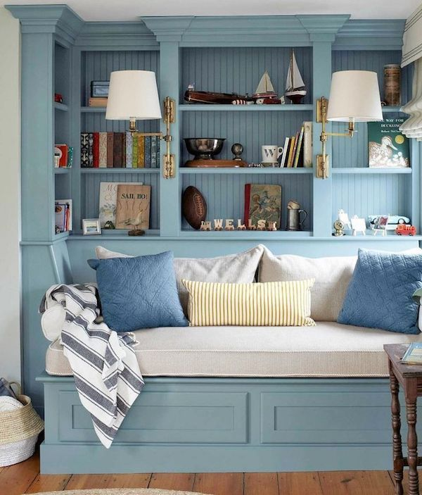 leseecke einrichten wo lesen stundenlang spa machen kann b cherregale bequeme sessel und. Black Bedroom Furniture Sets. Home Design Ideas