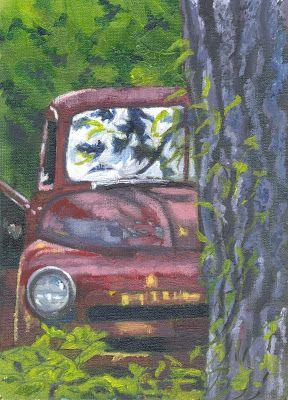 The Art of Phil Davis: Peek a Boo