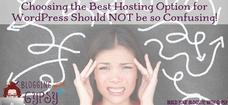 Hosting options for WordPress should not be confusing! Check out my latest blog post on Blogging with Gypsy!