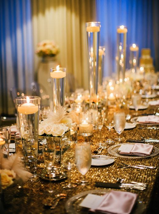 Awe inspiring wedding receptions with wow factors - Decorer sa table de noel ...