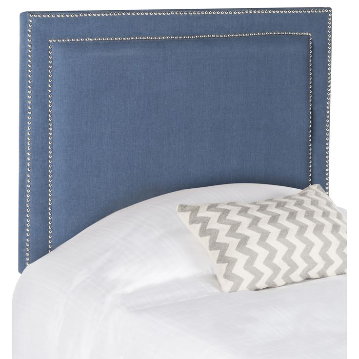Safavieh Cory Navy Headboard