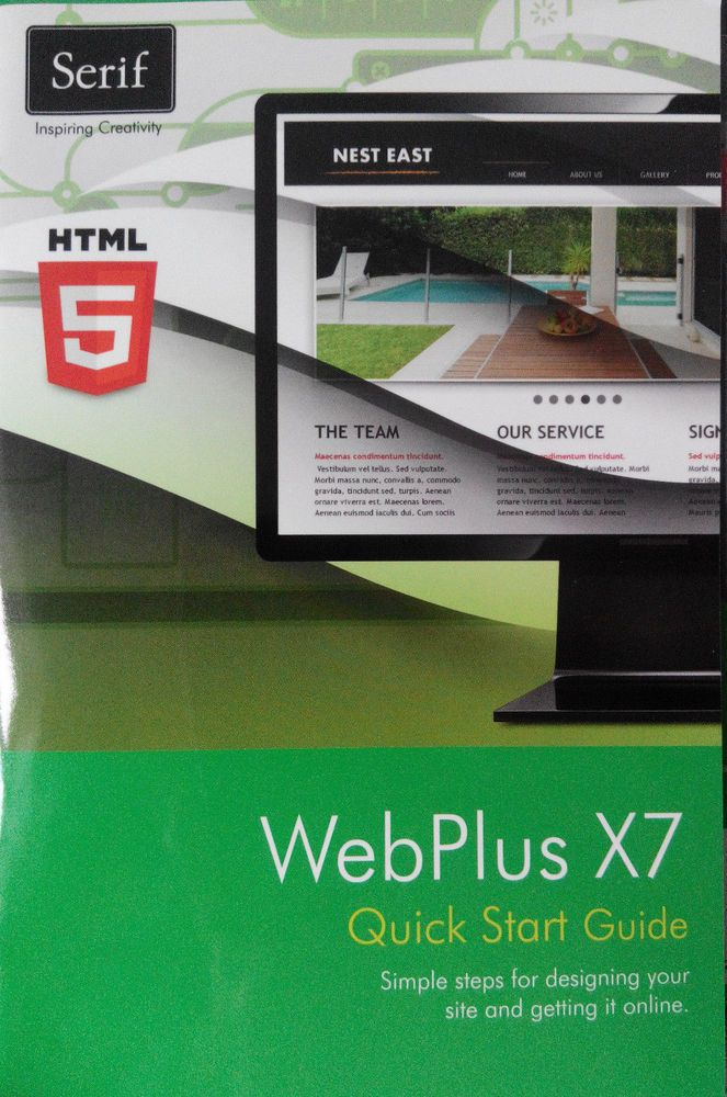 d44bd19478c Webplus x7 - With full resource guide. Create an unlimited number of  websites. Professional Websites Made Easy…