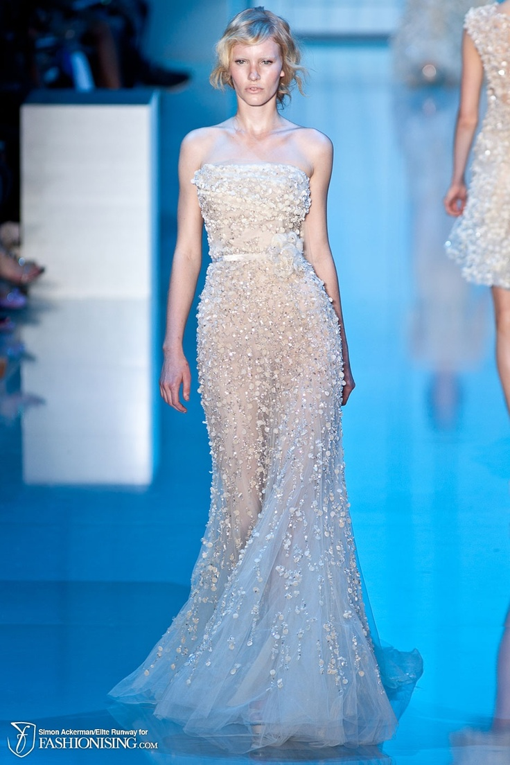 83 best Elie Saab images on Pinterest | Evening gowns, High fashion ...