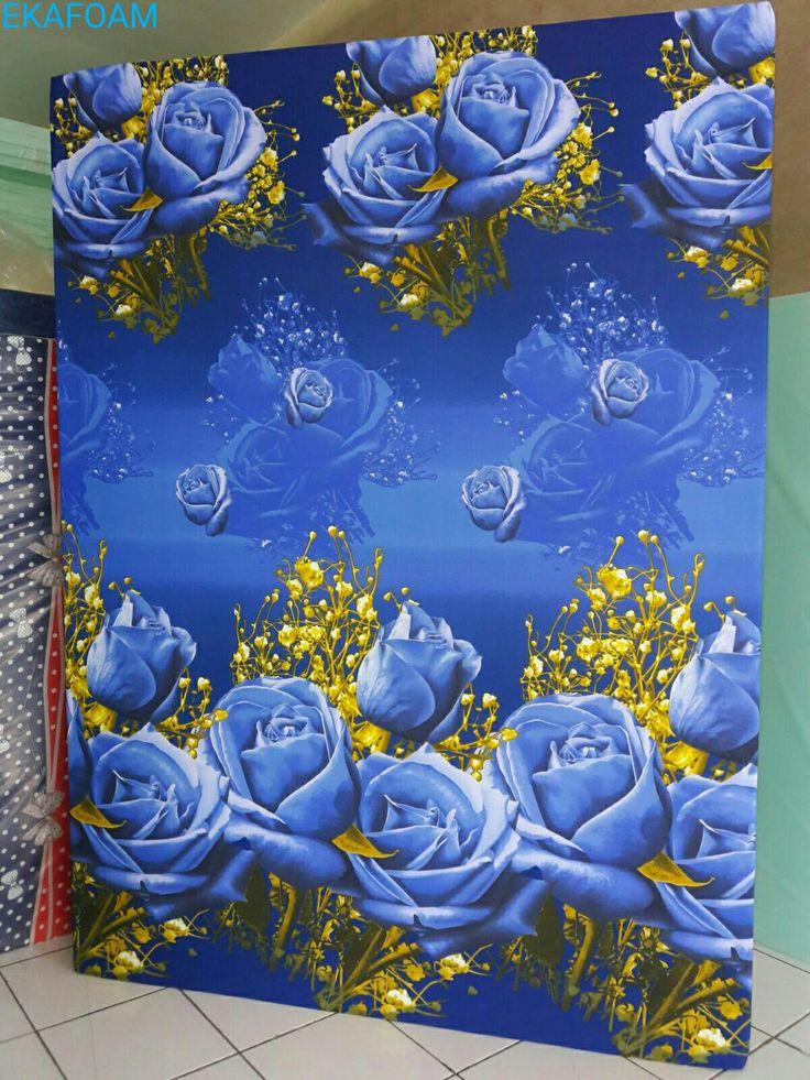Kasur inoac terbaru 2017. Inoac motif Bunga Tulip Biru Inoac Ekafoam : 0896 3610 2158. Detail Produk http://ekafoam.blogspot.com/p/harga-kasur-inoac-terbaru-2016.html