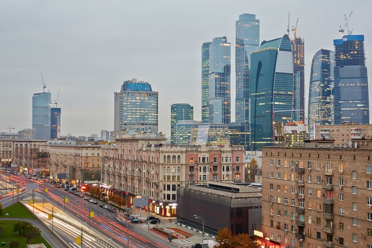 The Moscow City Complex #city #moscow #center #business #moscow #view