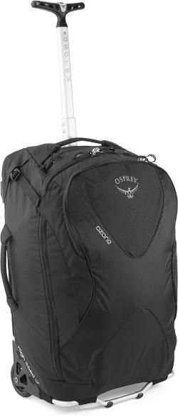 "Osprey Ozone Wheeled Luggage - 22"" Black"