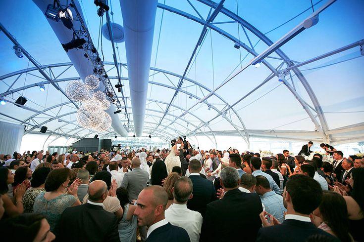 Louise and Charbel's lavish Wedding at Dockside Pavilion See full wedding http://docksidegroup.com.au/blog/real-wedding-louise-and-charbel