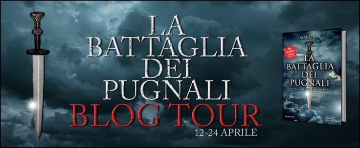 Walks with Gio: Blogtour La Battaglia dei Pugnali di Marie Lu - Pl...