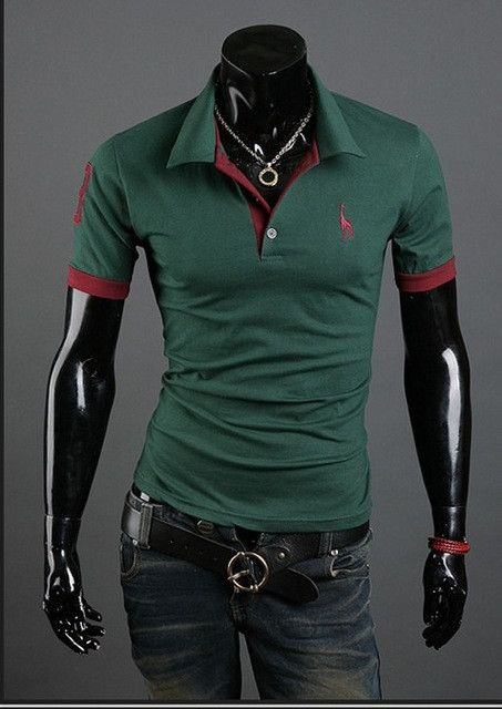 HOT! Casual Slim Fit Short-Sleeve Cotton T-shirt