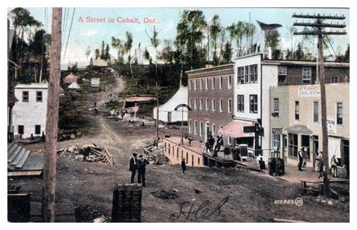Cobalt, Ontario c1910