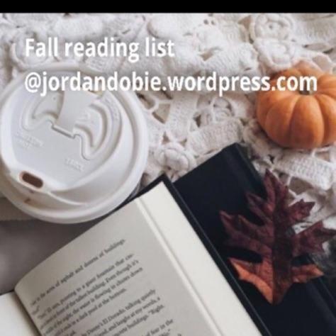https://jordandobie.wordpress.com/?s=Fall+reading+list