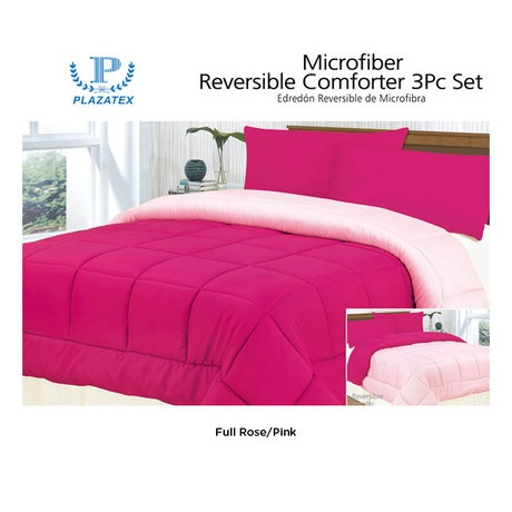 "Reversible Microfiber Comforter Set (Retail Price $89.99) ""Our Price is $31.00"" only at nomorerack.com"