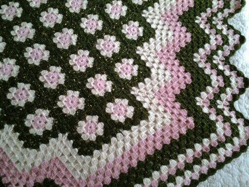 Dilek Kaya Afgan motifli battaniye