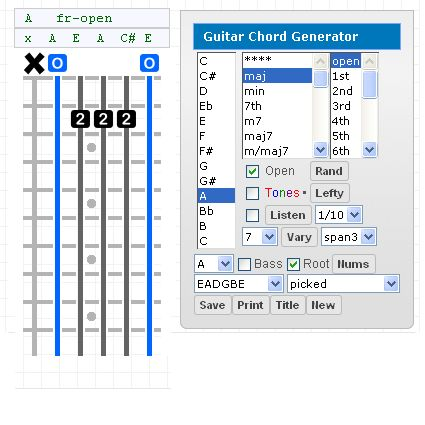 This is the one you are looking for, Powerful Guitar Chord Programs, Generate Chords, Find Chord Names, Create exotic Scales, Print Everything