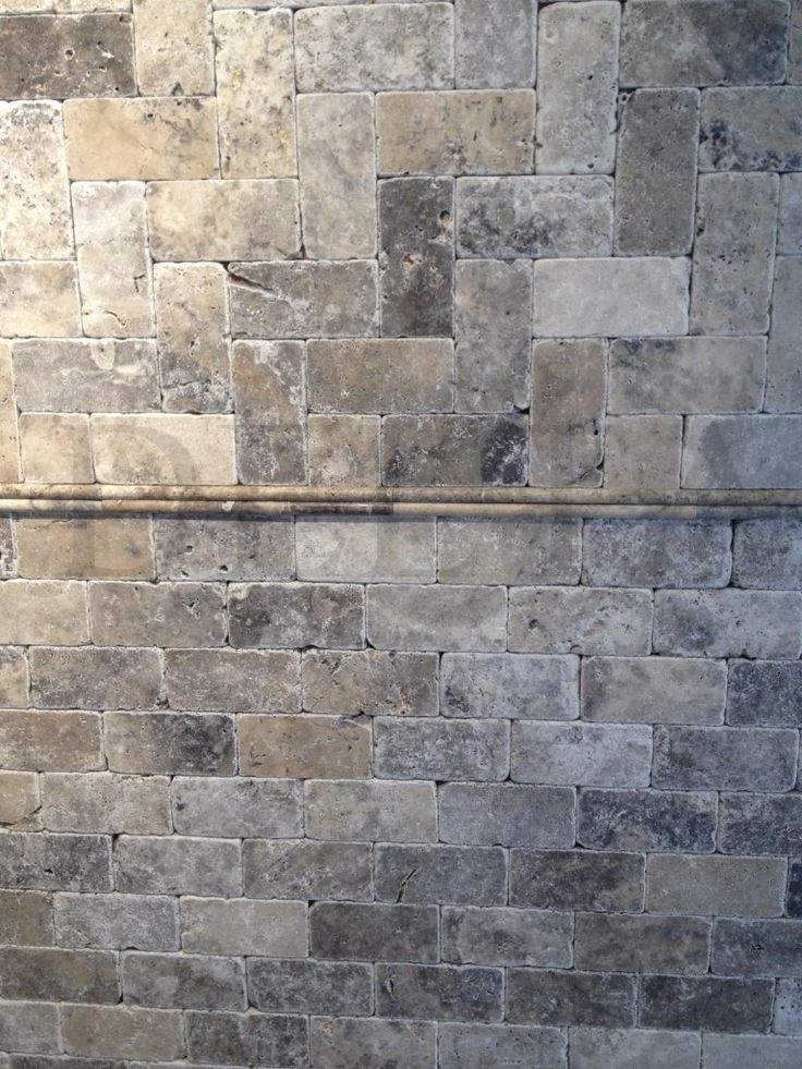 Silver Travertine Tumbled 7 5x15 Dg 4187 Mosaic