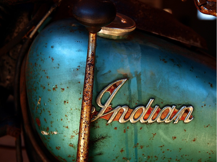 Indian | #rust #weathered #vintage