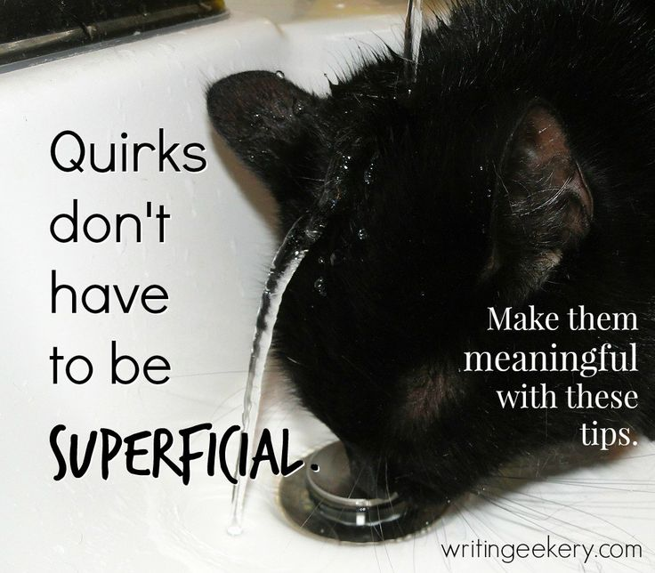 How A Quirk Can DEEPEN Character