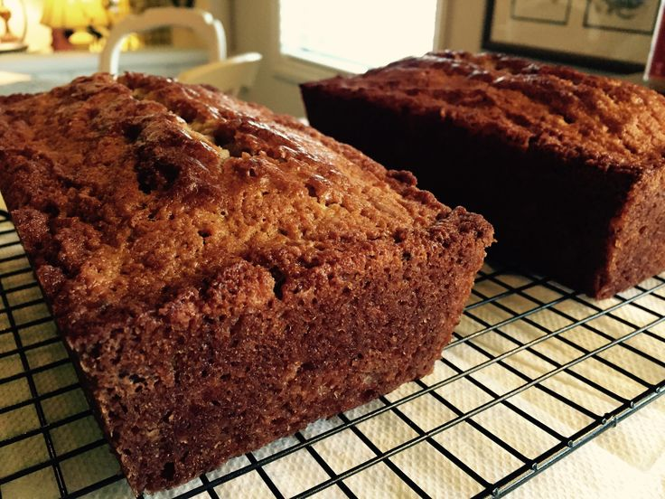 The very best, easiest, and moist Banana Nut bread loaves. Show some sweet hospitality with A Still Magnolia blog!