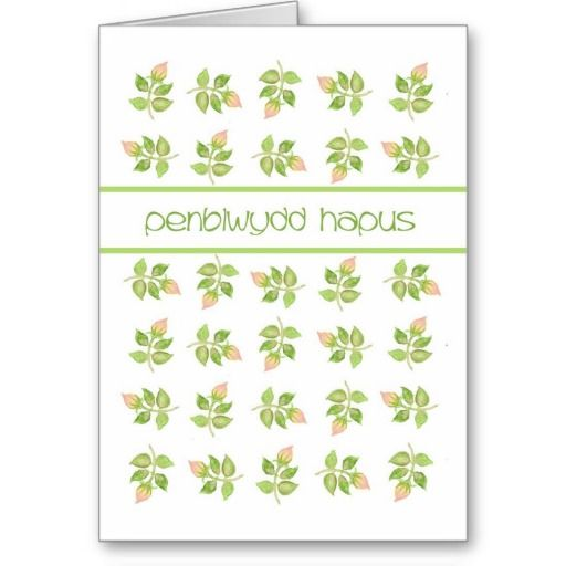 A very pretty Birthday Card with the greeting in Welsh and a pattern of old-fashioned pink rosesbuds, from a handpainted design by Judy Adamson: up to $3.50 - http://www.zazzle.com/pretty_rosebuds_birthday_card_welsh_greeting-137948884545291979?rf=238041988035411422&tc=pintw