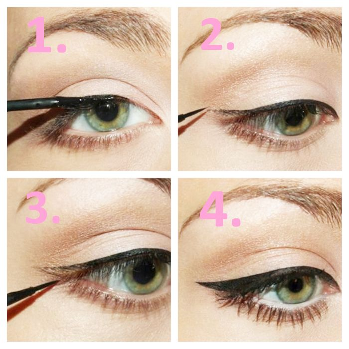 DIY 5 Different Eyeliner Styles For Beginners | BestStylo.com