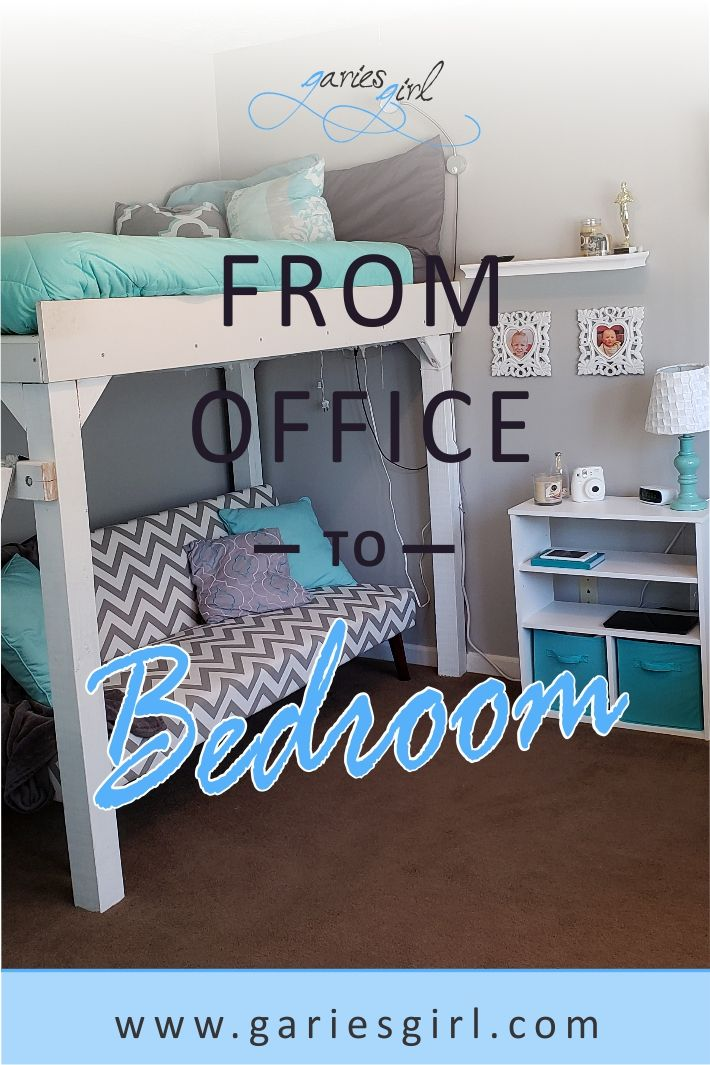 From Office To Bedroom Cube Furniture Diy Decor Projects Bedroom