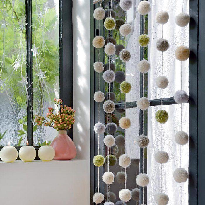 Fabriquer des guirlandes de pompons