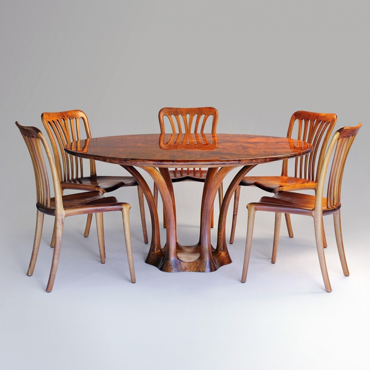 'Cunji' Dining Suite by Tony Kenway, Bungendore Wood Works Gallery