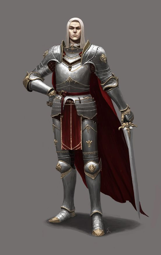 Noble Knight by dimelife on deviantART