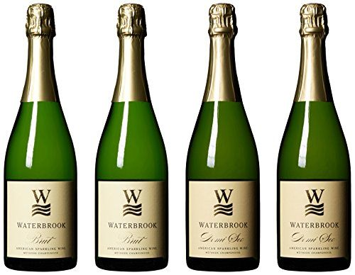 Waterbrook Winery Sparkling Celebration Mixed Wine Pack 4 x 750 mL *** You can find more details by visiting the image link.