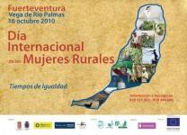 Día Internacional de las mujeres rurales en Fuerteventura.