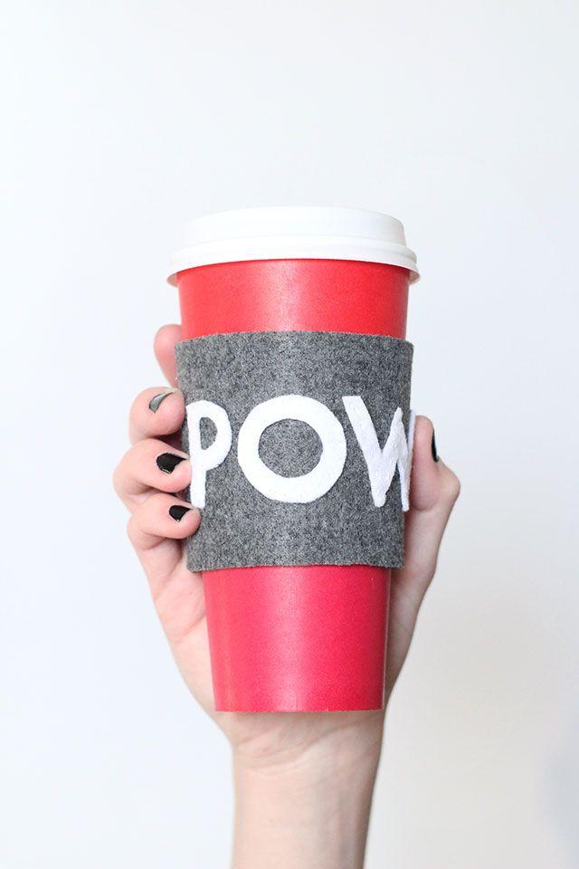 Diy Reusable Coffee Cup Sleeve Sleeves