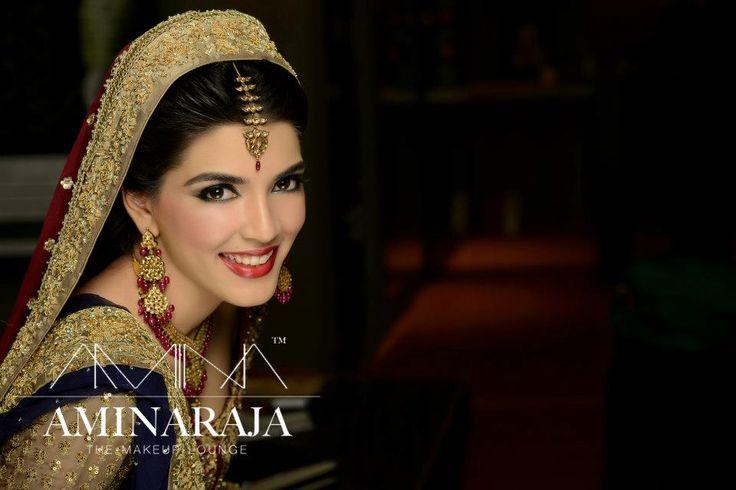 navy pakistani bridal
