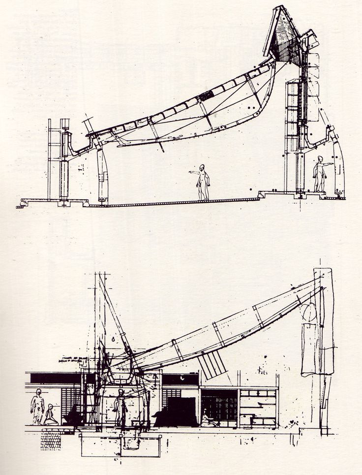 Peter Salter sectional drawing