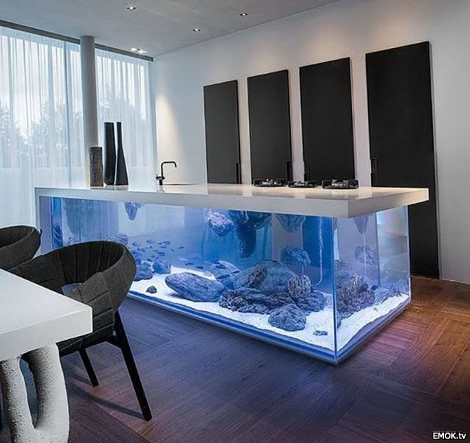 Aquarium-Tisch