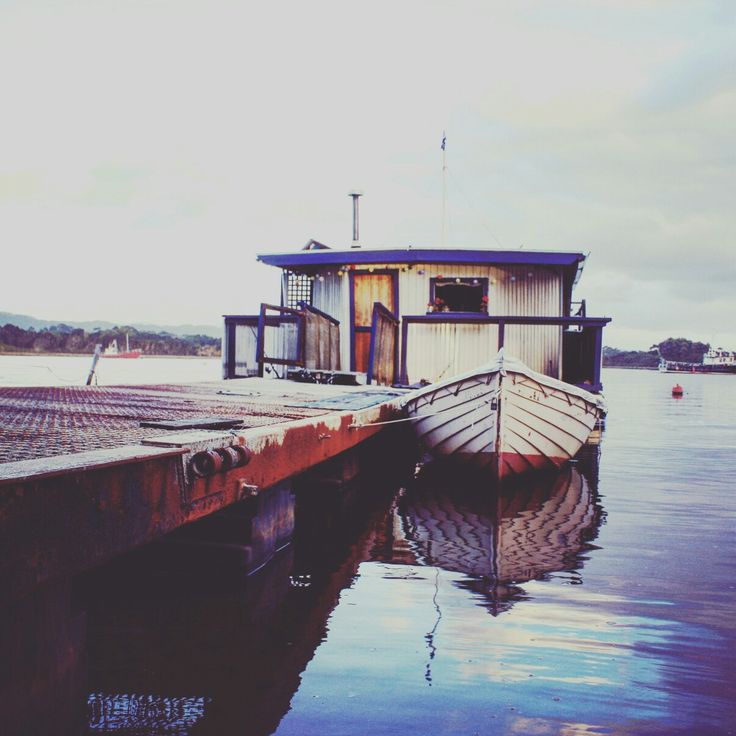 Our Houseboat at Strahan