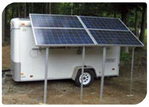 DIY Solar Trailer ( Camping Or Bug Out )