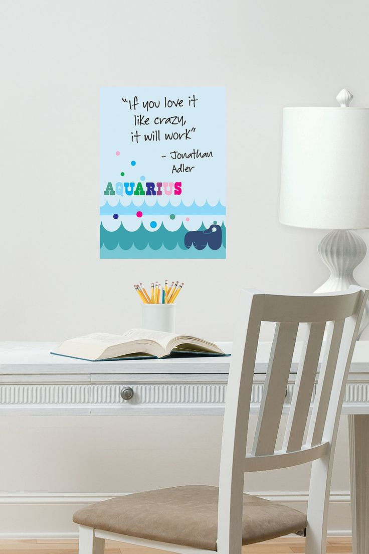 65 best dry erase images on pinterest message board wall pops jonathan adler aquarius dry erase board sticker wall sticker mural decal designs at wall sticker outlet amipublicfo Images