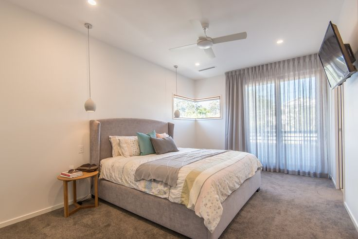 A kalka master suite in the Grange, Brisbane.