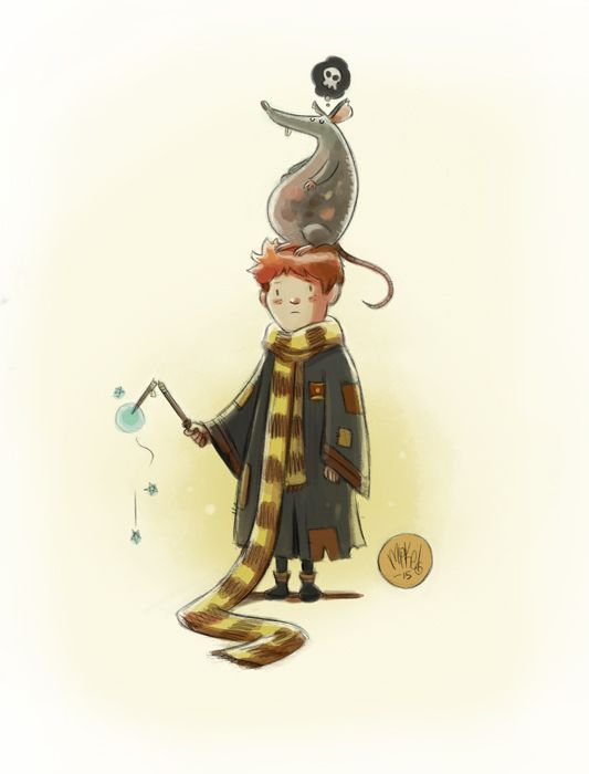 Harry Potter Illustrations - Created by Mike Maihack