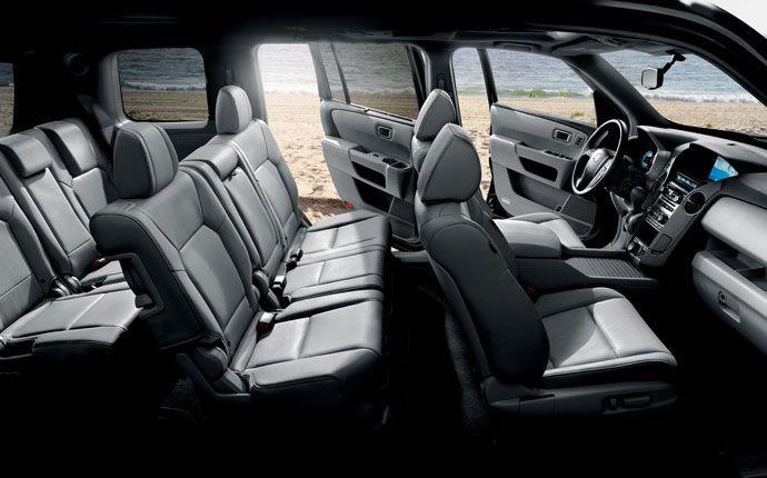 2015 Honda Pilot Vs 2015 Subaru Outback Comparison Review | Honda Pilot Interior | Read  the Full Review